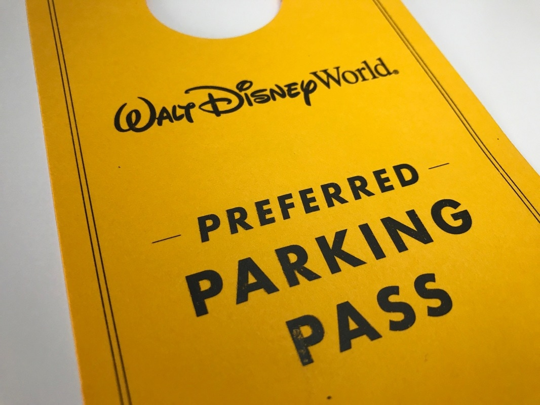Parking at Disney World